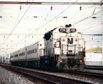 NJT 4106 Ex-CNJ unit under the wires